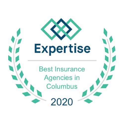 Award - 2020 Expertise Best Insurnace Agencies in Columbus